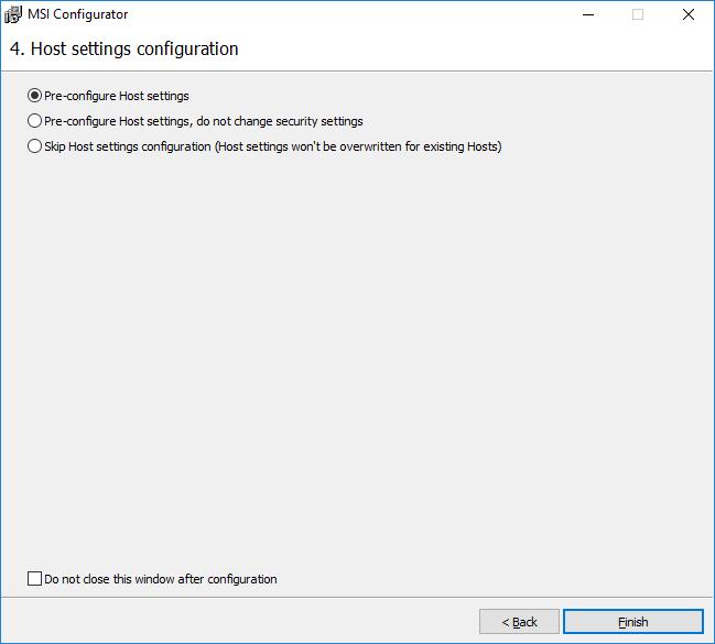 Version 6 6 0 5: Improved MSI Configurator + Simple Update   Remote