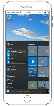 Mobile apps   Remote Utilities