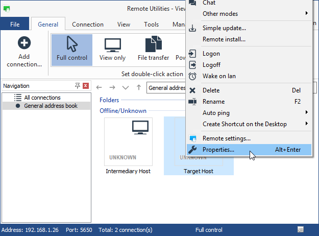 how to connect to teamviewer host