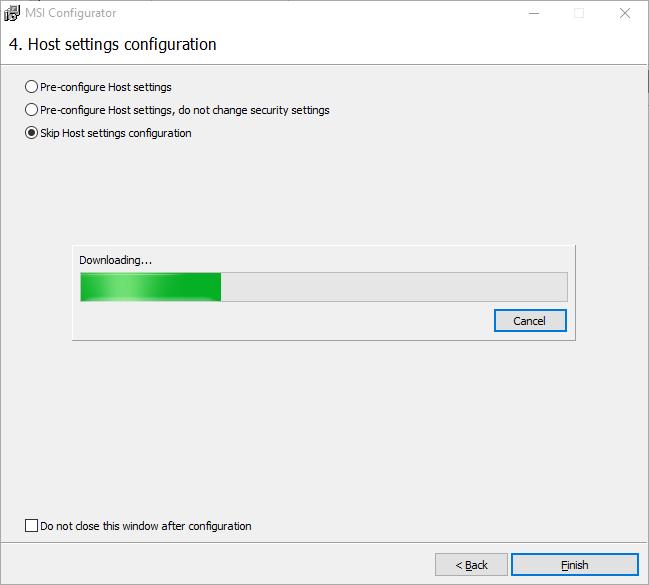 About MSI Configurator | Remote Utilities